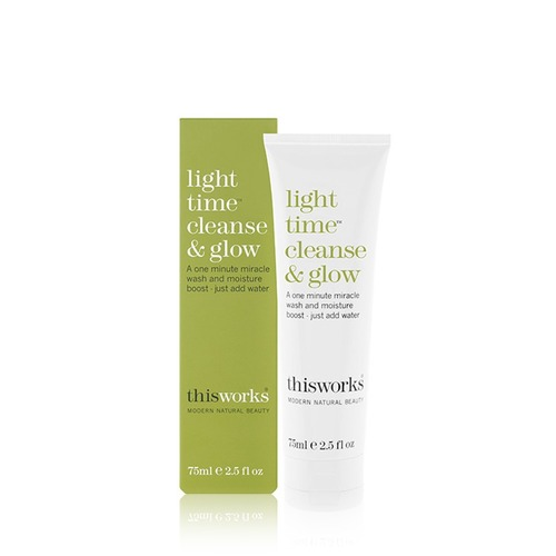 Closeup   light 20time 20cleanse 20and 20glow