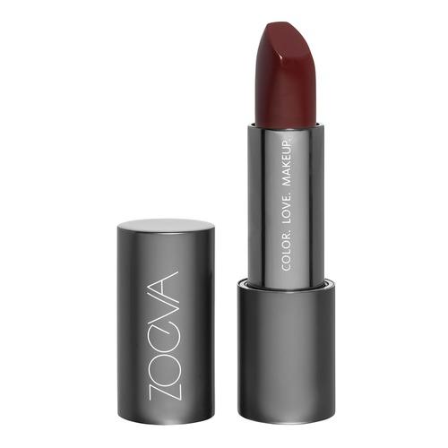 Closeup   zoeva luxe matte lipstick deep impact