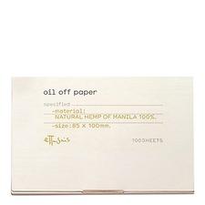 Oil Off Paper