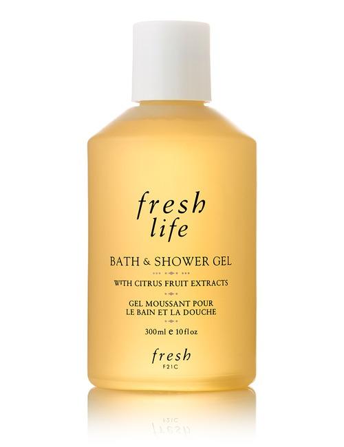 Closeup   h00003405 fresh life bath   shower gel